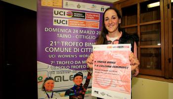 "Serata ""Trofeo Binda e Ciclismo Femminile"" ad Azzio (photo: F. Ossola)"