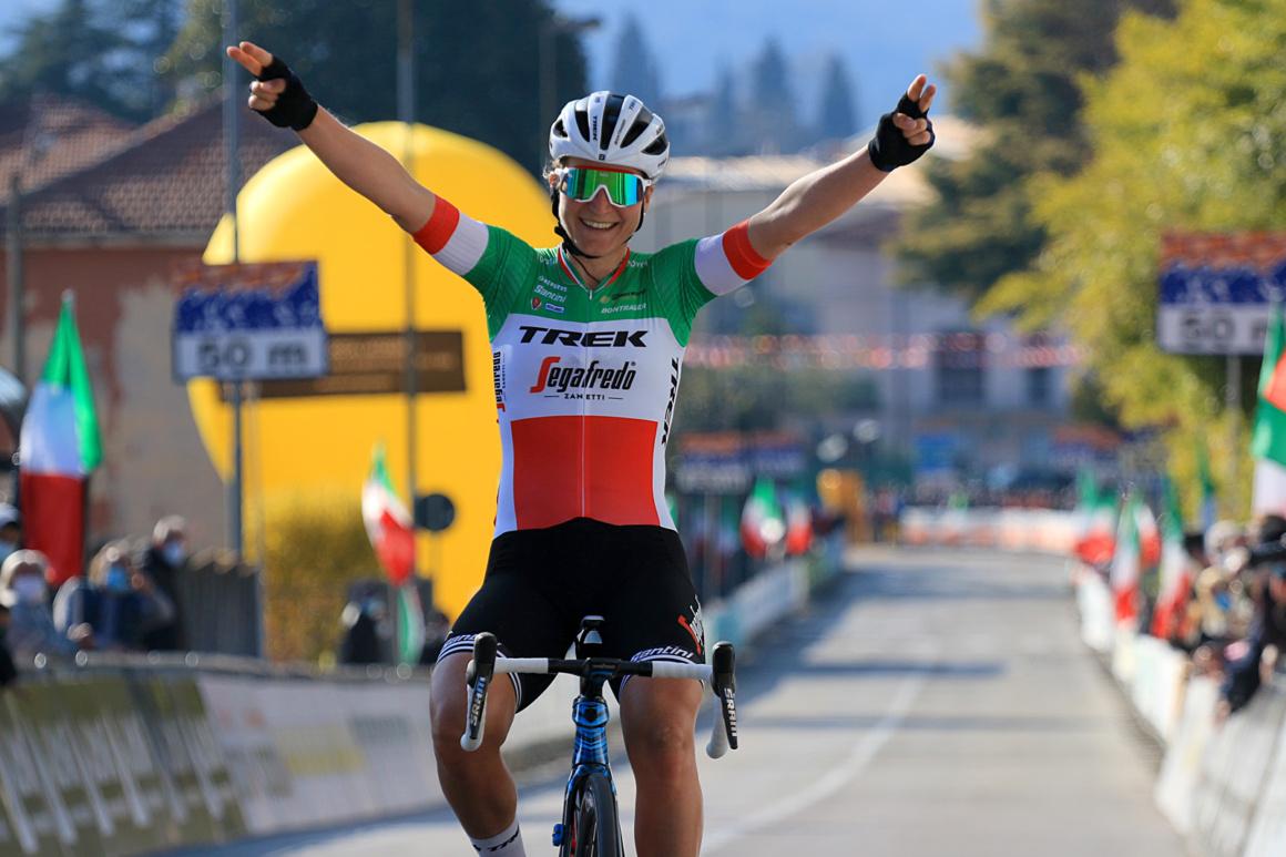 """""""Trofeo Alfredo Binda U.C.I. WWT"""": assolo della tricolore Elisa Longo Borghini"""